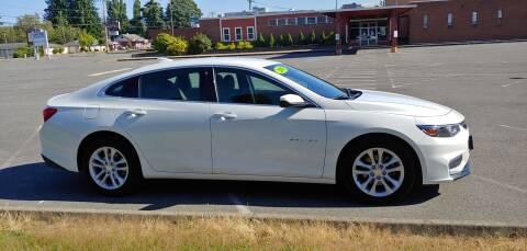 2018 Chevrolet Malibu for sale at Autotrack in Mount Vernon WA