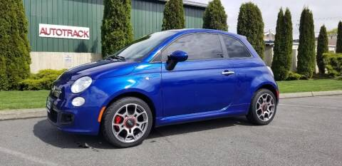 2013 FIAT 500 for sale at Autotrack in Mount Vernon WA