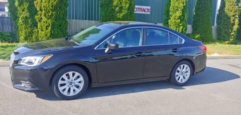 2017 Subaru Legacy for sale at Autotrack in Mount Vernon WA