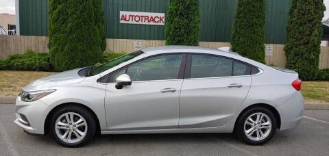 2017 Chevrolet Cruze for sale at Autotrack in Mount Vernon WA