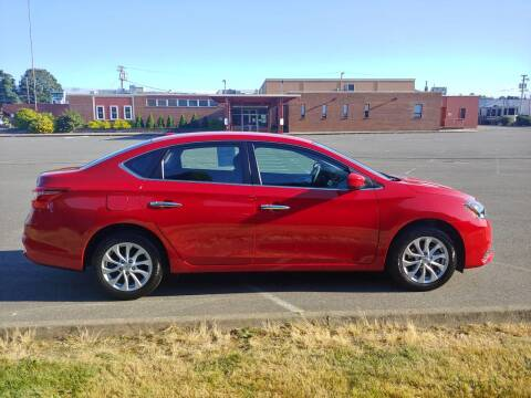 2018 Nissan Sentra for sale at Autotrack in Mount Vernon WA