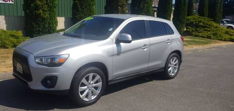 2015 Mitsubishi Outlander Sport for sale at Autotrack in Mount Vernon WA
