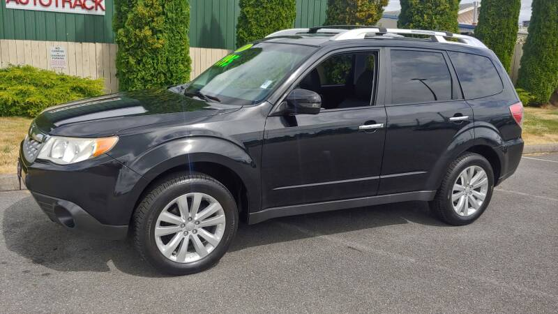 2011 Subaru Forester for sale at Autotrack in Mount Vernon WA