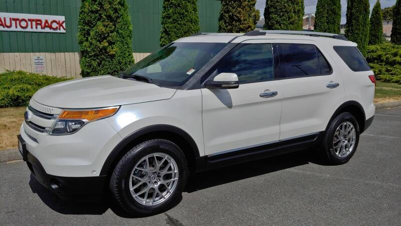 2011 Ford Explorer for sale at Autotrack in Mount Vernon WA