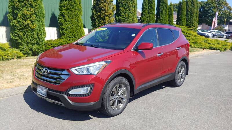 2014 Hyundai Santa Fe Sport for sale at Autotrack in Mount Vernon WA