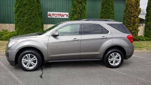 2012 Chevrolet Equinox for sale at Autotrack in Mount Vernon WA
