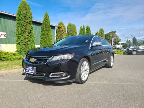 2014 Chevrolet Impala for sale at Autotrack in Mount Vernon WA