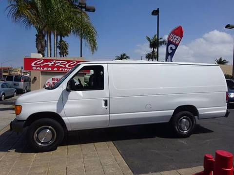 2004 Ford E-Series Cargo for sale at CARCO SALES & FINANCE #2 in Chula Vista CA