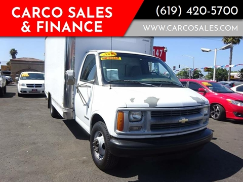 2000 Chevrolet Express Passenger for sale at CARCO SALES & FINANCE - Under 7000 in Chula Vista CA