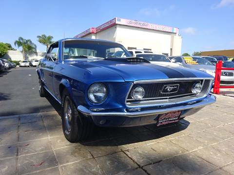 Ford Mustang For Sale In Chula Vista Ca