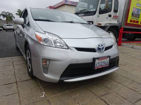 2013 Toyota Prius for sale in Chula Vista, CA