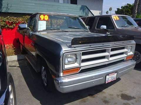 1990 Dodge RAM 150 for sale in Chula Vista, CA