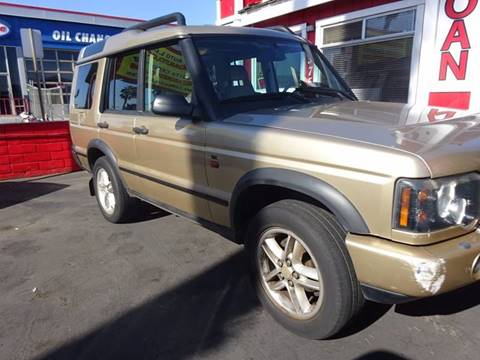 2004 Land Rover Discovery for sale in Chula Vista, CA