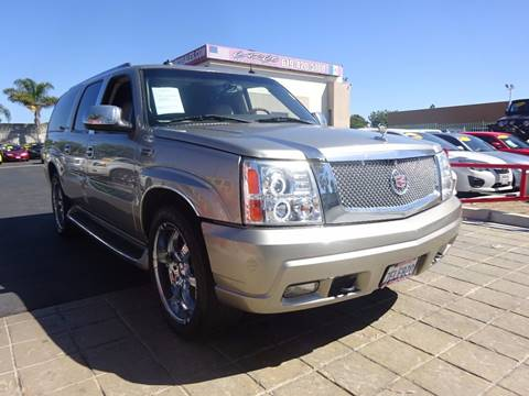 2003 Cadillac Escalade ESV for sale in Chula Vista, CA