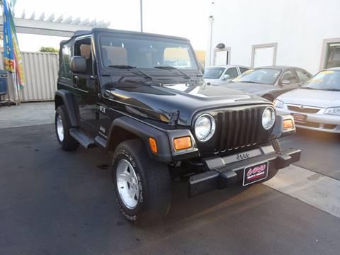 2006 Jeep Wrangler for sale in Chula Vista, CA