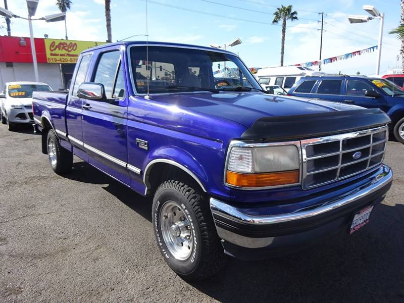 1995 ford f 150 2dr xlt 4wd extended cab lb in chula vista ca carco sales finance. Black Bedroom Furniture Sets. Home Design Ideas
