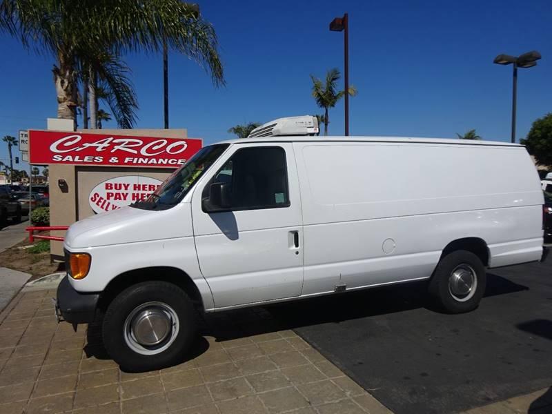 2003 ford e350 cargo van