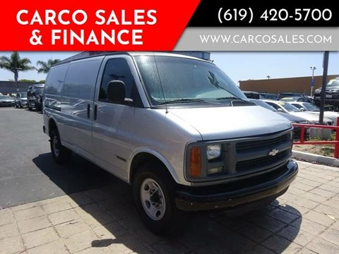 1998 Chevrolet Chevy Van for sale in Chula Vista, CA