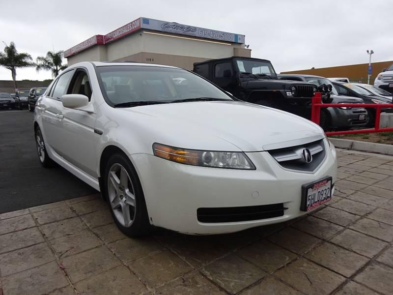 Acura Tl Dr Sedan WNavi In Chula Vista CA CARCO SALES - 04 acura tl for sale
