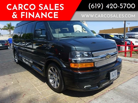 2017 Chevrolet Express Cargo for sale at CARCO SALES & FINANCE in Chula Vista CA
