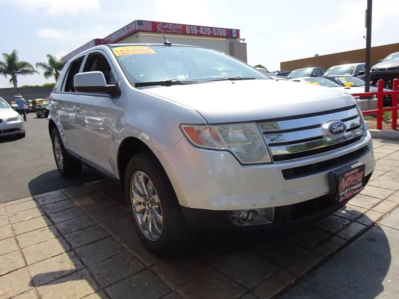 Ford Edge Sel Dr Crossover Chula Vista Ca