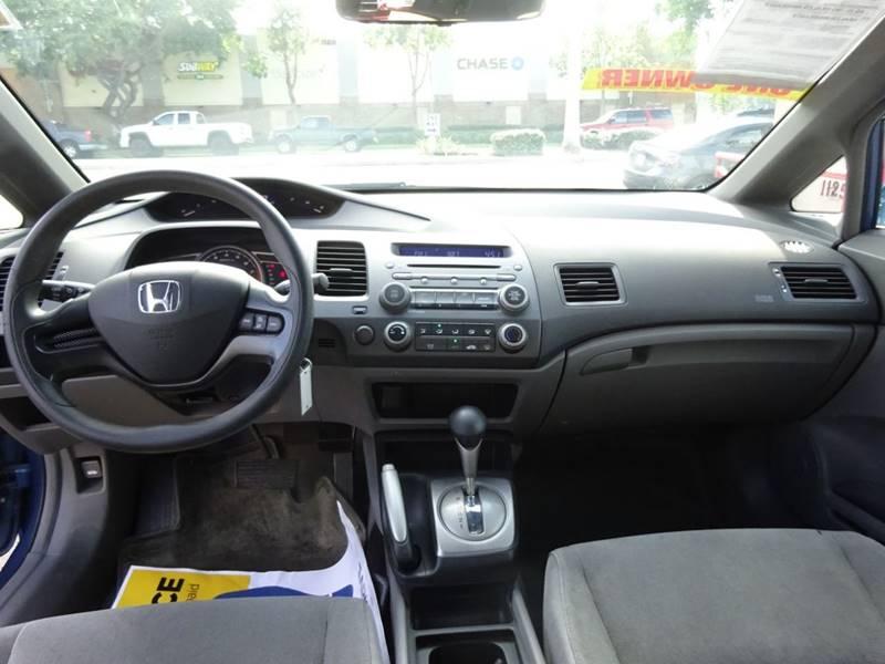 2006 Honda Civic Lx 4dr Sedan Wautomatic In Chula Vista Ca Carco