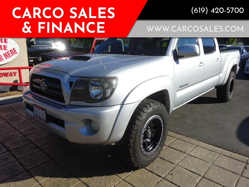 2005 toyota tacoma 4dr double cab prerunner v6 rwd in chula vista ca carco sales finance. Black Bedroom Furniture Sets. Home Design Ideas