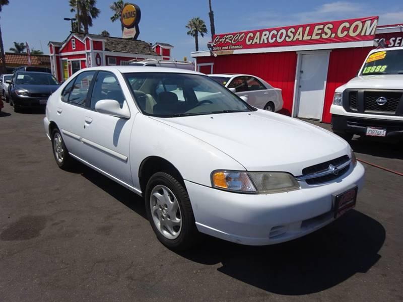 1998 Nissan Altima GXE 4dr Sedan   Chula Vista CA