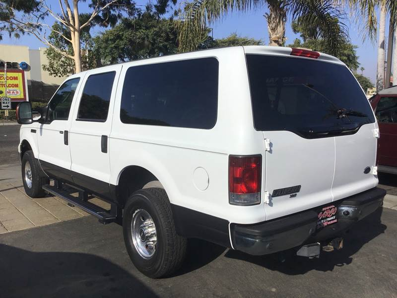2005 Ford Excursion Xlt 4wd 4dr Suv In Chula Vista Ca Carco Sales