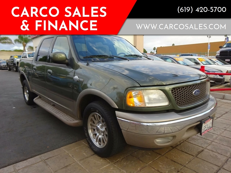2001 ford f 150 king ranch edition