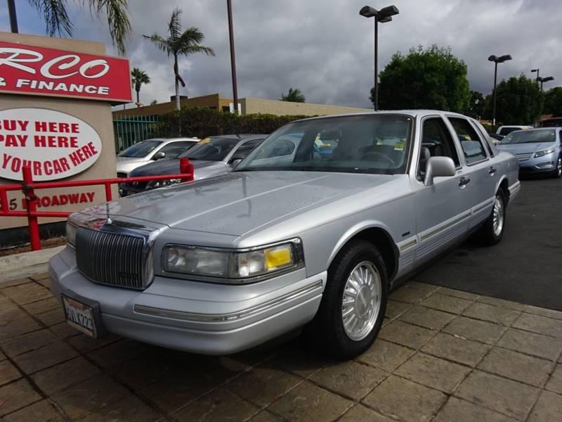 1997 Lincoln Town Car Cartier 4dr Sedan In Chula Vista Ca Carco