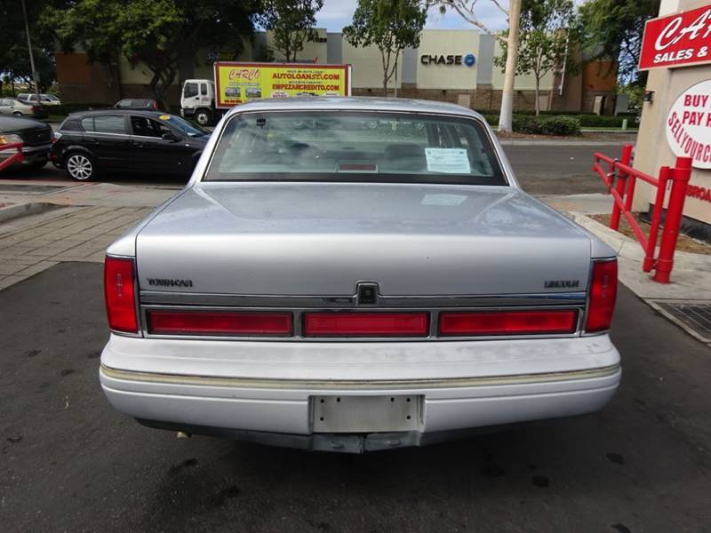 1997 Lincoln Town Car Cartier 4dr Sedan In Chula Vista Ca Carco