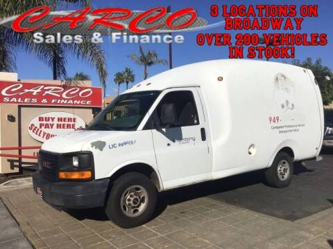 2005 GMC Savana Passenger for sale at CARCO SALES & FINANCE #2 in Chula Vista CA