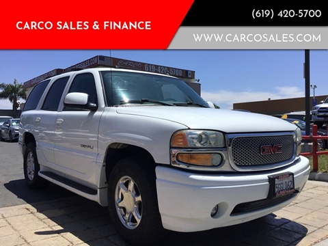 2004 GMC Yukon Denali for sale at CARCO SALES & FINANCE #2 in Chula Vista CA