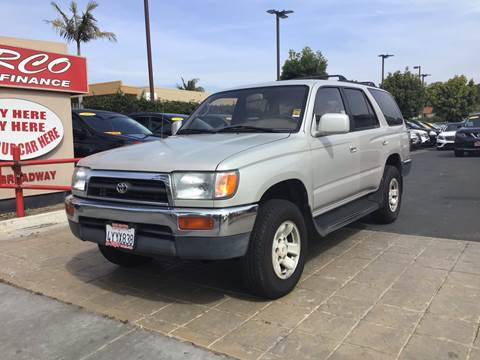 1997 Toyota 4Runner for sale at CARCO SALES & FINANCE - Under 7000 in Chula Vista CA