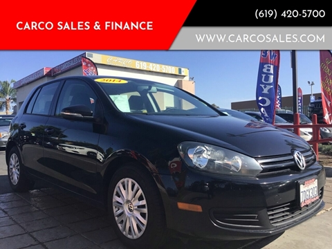 2014 Volkswagen Golf 2.5L PZEV for sale at CARCO SALES & FINANCE #2 in Chula Vista CA