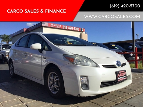 2010 Toyota Prius IV for sale at CARCO SALES & FINANCE #2 in Chula Vista CA