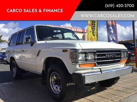 1990 Toyota Land Cruiser For Sale In Indiana Carsforsale
