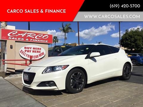 2014 Honda CR-Z for sale in Chula Vista, CA
