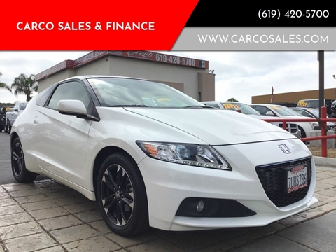 2014 Honda CR-Z for sale in Chula Vista, CA
