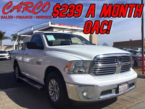 2013 RAM Ram Pickup 1500 for sale at CARCO SALES & FINANCE #2 in Chula Vista CA