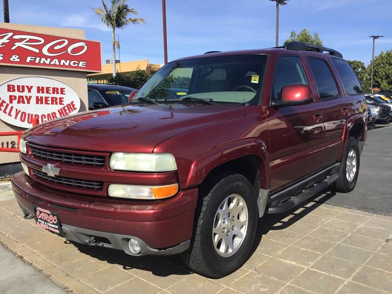 2003 Chevrolet Tahoe LT 4WD 4dr SUV In Chula Vista CA