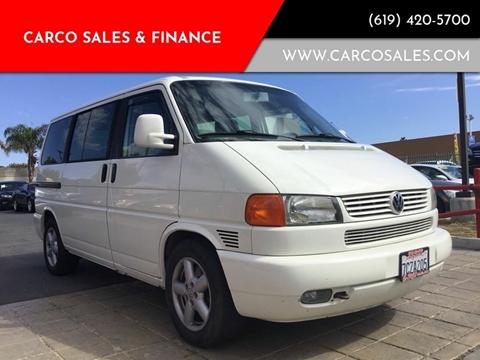2003 Volkswagen EuroVan for sale in Chula Vista, CA