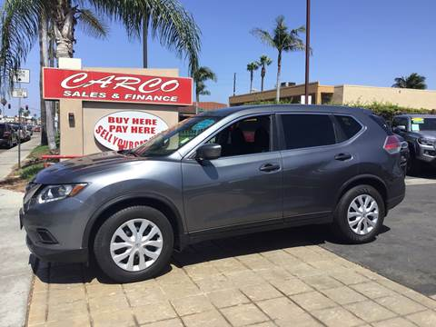 2016 Nissan Rogue for sale at CARCO SALES & FINANCE #3 in Chula Vista CA
