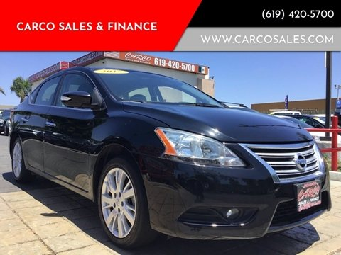 2015 Nissan Sentra SL for sale at CARCO SALES & FINANCE #3 in Chula Vista CA