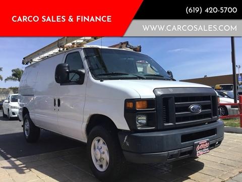 2008 Ford E-Series Cargo E-250 for sale at CARCO SALES & FINANCE #2 in Chula Vista CA
