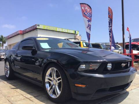 2012 Ford Mustang for sale at CARCO SALES & FINANCE #3 in Chula Vista CA