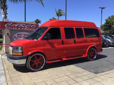 2004 Chevrolet Express Cargo for sale at CARCO SALES & FINANCE #3 in Chula Vista CA