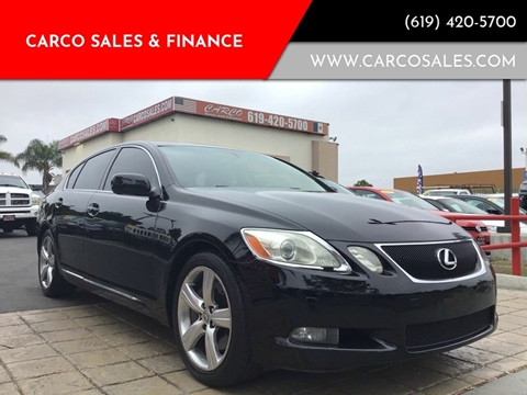 2006 Lexus GS 430 for sale at CARCO SALES & FINANCE #3 in Chula Vista CA