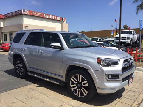 2017 Toyota 4Runner Limited for sale at CARCO SALES & FINANCE #3 in Chula Vista CA